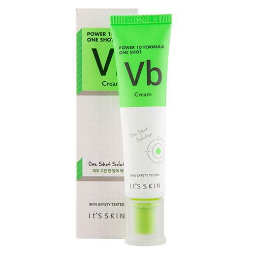 Крем для лица ITS SKIN POWER 10 FORMULA VB с витамином B6 (освежающий матирующий) 35 млУниверсальный уход<br>Крем успешно нормализует работу сальных желез, матирует и отлично освежает кожу лица уже с первого применения, благодаря витамину В6. Он обладает сильными питательными, увлажняющими, защитными и восстанавливающими свойствами, позволяет коже активно противостоять агрессивной внешней среде: ветру, солнечному ультрафиолету, холоду. Экстракт ягод лимонника китайского, входящий в состав, активно стимулирует действие обменных процессов в коже, способствует разглаживанию морщин, прекрасно устраняет раздражения.<br>