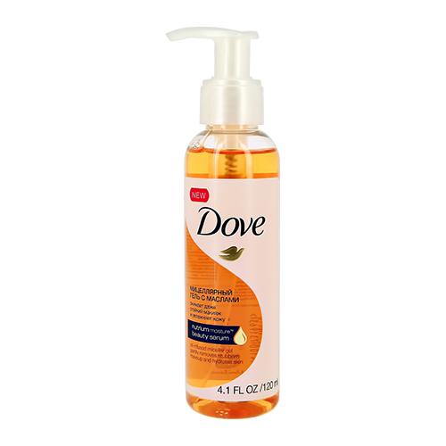 Мицеллярный гель DOVE с маслами для всех типов кожи 120 мл