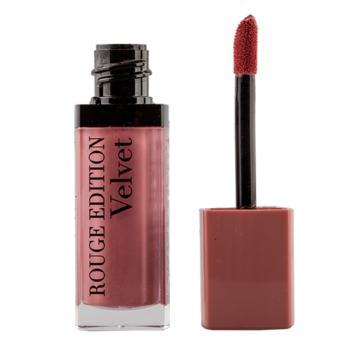 Помада для губ `BOURJOIS` ROUGE EDITION VELVET тон 10 (Don`t pink og it!) матовая жидкая