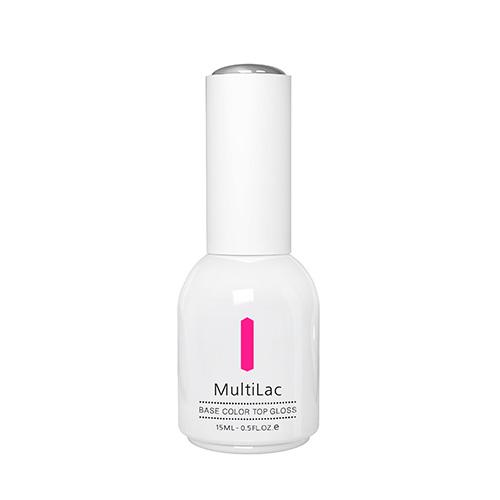 Гель-лак `RUNAIL PROFESSIONAL` MULTILAC 4 в 1 Pink Neon (классический) 15 млЛаки<br>Гель-лак 4 в 1<br>