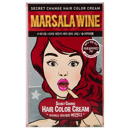 Крем-краска для волос `MEDIHEAL` SECRET HAIR Marsala wineОкрашивание<br>Крем-краска для волос MEDIHEAL SECRET HAIR • Содержит кератин, протеины сои, масло жожоба и камелии японской для мягкости и блеска волос<br>• Содержит кератин, протеины сои, масло жожоба и камелии японской для мягкости и блеска волос<br>• Красивый и стойкий цвет<br>• Идеальное закрашивание седых волос<br><br>В состав упаковки входит: <br>1. Саше с кремом-краской 25г – 2 шт.<br>2. Саше с проявителем 25г – 2 шт.<br>3. Инструкция<br>