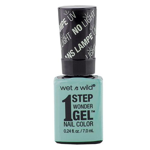 Гель-лак для ногтей `WET N WILD` 1 STEP WONDERGEL тон Е7311 Pretty peas 7 млЛаки<br>Лак держится до двух недель. Сохнет без использования ультрафиолетовой лампы, легко удаляется и не повреждает ногтевую пластину, не содержит толуола и фталатов.<br>