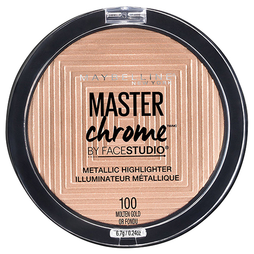 Хайлайтер для лица `MAYBELLINE` MASTER CHROME тон 100