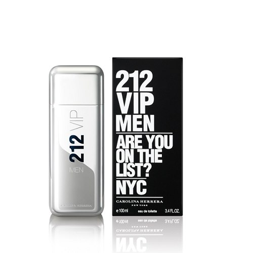 Туалетная вода `CAROLINA HERRERA` 212 VIP MEN (муж.) 100 млМужская<br>212 VIP MEN - новый мужской аромат, альтер эго женского бестселлера 212 VIP, который воплощает идеальный образ жителя Нью-Йорка. Кто он, мужчина по версии 212 VIP? Он - харизматичный, веселый, стильный, желанный, ему подражают. Аромат 212 VIP MEN - взрывной коктейль из холодной водки и мяты, пальчикового лайма и будоражущих специй, вдохновленный самыми жаркими вечеринками. Основные ингредиенты: Лаймовая Икра придает аромату фруктовый оттенок и делает его более элегантным. Изысканный VIP-фрукт для истинных Королей вечеринок. Охлажденная Водка с добавлением замороженной мяты заряжает на всю ночь. Королевское Дерево, Пикантная Амбра и Бобы Тонка придают аромату неподражаемый почерк, делая его чувственным, но мужественным. Флакон 212 VIP MEN исполнен в виде мощного металлического блока. Решающая деталь - литой металлический колпачок.<br>