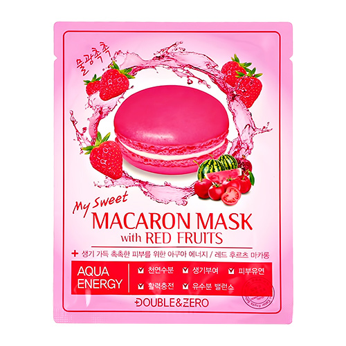 Купить Маска для лица DOUBLE & ZERO MY SWEET MACARON увлажняющая 30 г, РЕСПУБЛИКА КОРЕЯ/ REPUBLIC OF KOREA
