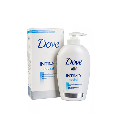 Средство для интимной гигиены DOVE INTIMO Neutral 250 мл
