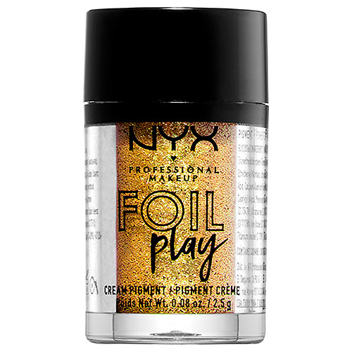 Пигмент для век `NYX PROFESSIONAL MAKEUP` FOIL PLAY кремовый тон 08