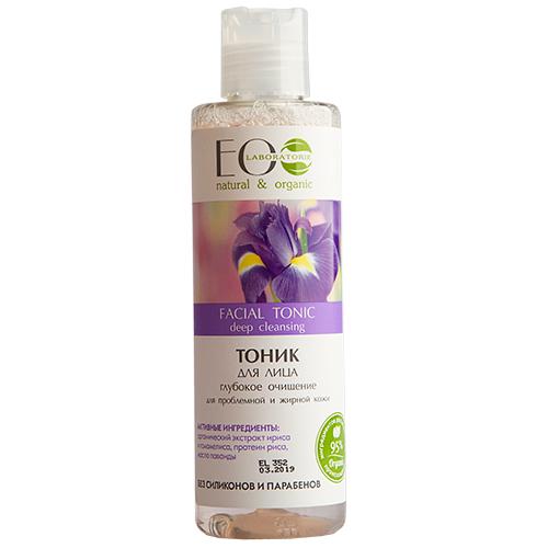 Купить Тоник для лица EO LABORATORIE Глубокое очищение для проблемной и жирной кожи 200 мл, РОССИЯ/ RUSSIA
