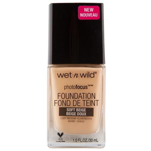 Основа тональная для лица WET N WILD PHOTO FOCUS тон E365c Soft beige