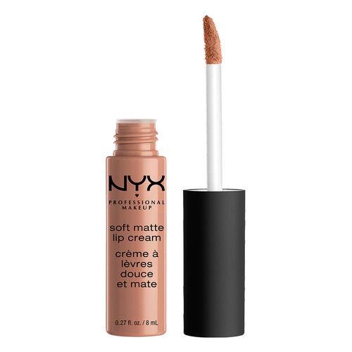Помада для губ `NYX PROFESSIONAL MAKEUP` SOFT MATTE LIP CREAM тон 04 London матовая жидкая