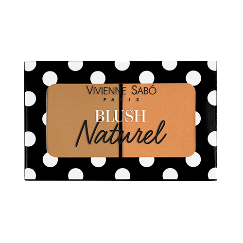 Румяна для лица VIVIENNE SABO BLUSH DUO NATUREL двойные тон 03