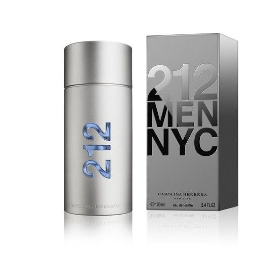 Туалетная вода `CAROLINA HERRERA` 212 NYC MEN (муж) 100 мл            а/п 8411061341605Мужская<br>ПРОЗРАЧНЫЙ, МУСКУСНЫЙ, ДРЕВЕСНЫЙ АРОМАТ Необычайно притягательный и мужественный аромат для сильных и энергичных мужчин. Современные и космополитичные ноты гардении (металлический оттенок) и имбиря идеально сочетаются с полными природного магнетизма и чувственности аккордами ладана и белого мускуса. ВЕРХНИЕ НОТЫ: листья цитрусовых, свежескошенная трава, листья пряностей НОТЫ СЕРДЦА ПРЯНЫЕ, ЦВЕТОЧНЫЕ: зеленый перец, имбирь, лепестки гардении БАЗОВЫЕ НОТЫ: сандал, ладан, белый мускус<br>