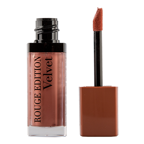Помада для губ `BOURJOIS` ROUGE EDITION VELVET тон 17 (Cool brown) матовая жидкая