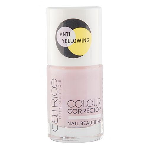 Основа под лак `CATRICE` COLOUR CORRECTOR корректирующая цвет 10 млУход за ногтями<br>Нейтрализует жёлтый оттенок. Глянцевый финиш с гелевым эффектом.<br>