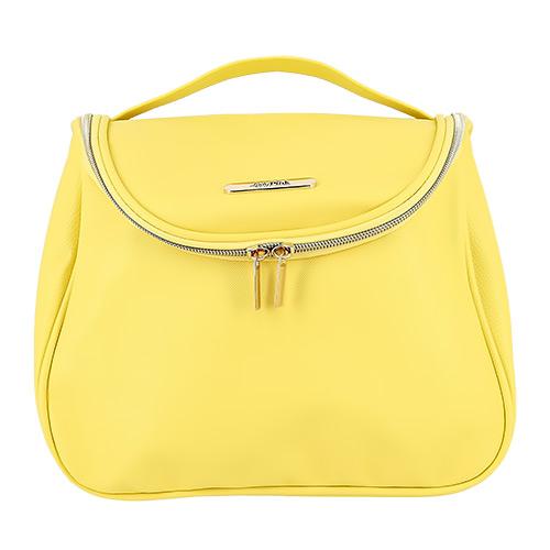 Косметичка LADY PINK LIMITED COLOR must have сундучок цвет желтый