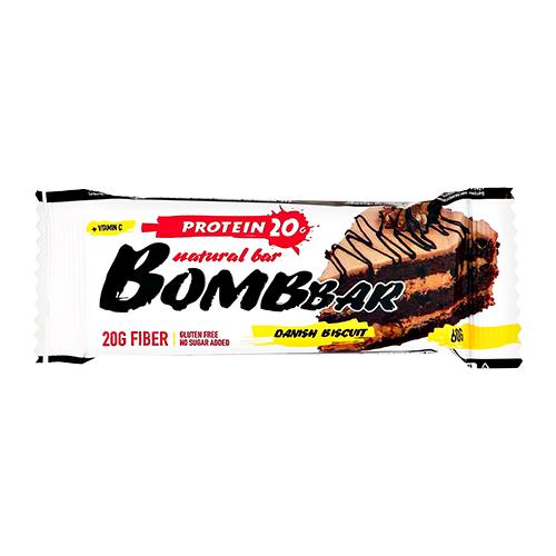 Батончик неглазированный BOMBBAR Датский бисквит 60 г