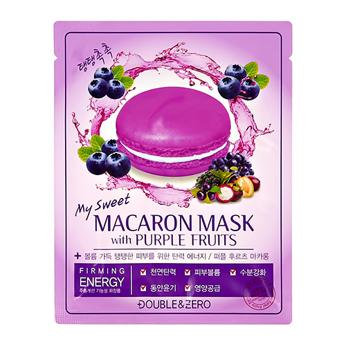 Купить Маска для лица DOUBLE & ZERO MY SWEET MACARON тонизирующая 30 г, РЕСПУБЛИКА КОРЕЯ/ REPUBLIC OF KOREA