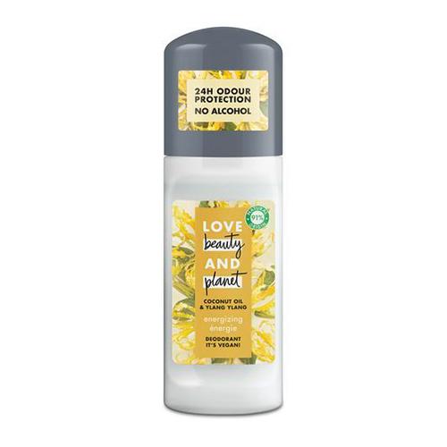 Део-ролл жен. LOVE BEAUTY AND PLANET COCONUT OIL & YLANG YLANG Кокосовое масло и цветы иланг-иланг 50 мл
