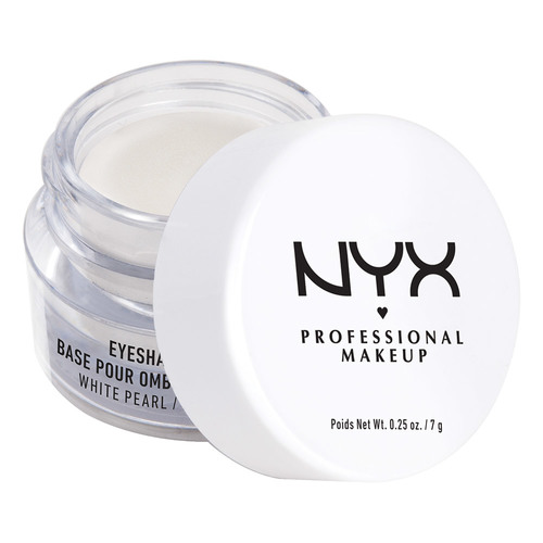 Праймер для век `NYX PROFESSIONAL MAKEUP` EYESHADOW BASE тон 02 WHITE PEARL