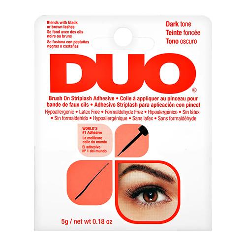 Купить Клей для ресниц DUO черный с кистью с витаминами 5 г, США/ USA