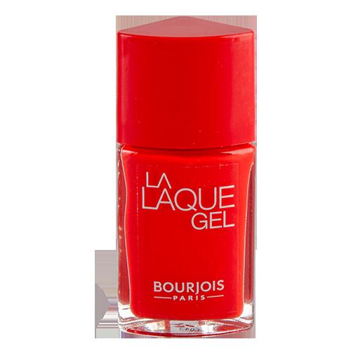 Лак для ногтей `BOURJOIS` LA LAQUE GEL тон 13 10 млЛаки<br>Новый лак с эффектом гелевого маникюра Bourjois La Laque Gel!<br>Сочные и яркие оттенки, удобная кисточка, повторяющая форму ногтя и предотвращающая стекание лака: желобки на черенке кисточки позволяют набрать достаточное количество лака и предотвратить стекание лака.<br>Парижский шик теперь на твоих ногтях!<br>