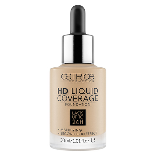 Основа тональная для лица `CATRICE` HD LIQUID COVERAGE тон 044 Deeply rose