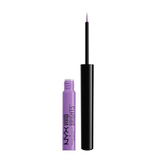 Подводка для глаз `NYX PROFESSIONAL MAKEUP` VIVID BRIGHTS тон 09 BLOSSOM цветная жидкаяПодводки<br>Жидкая цветная подводка с тонкой кистью. Подводка отличается яркими, насыщенными цветами. Отличный вариант для креативного макияжа глаз! Подводка быстро фиксируется, превосходно держится и не оставляет отпечатков. Тонкая кисть идеальна для проработки ресничного контура или для создания изящной стрелки.<br>