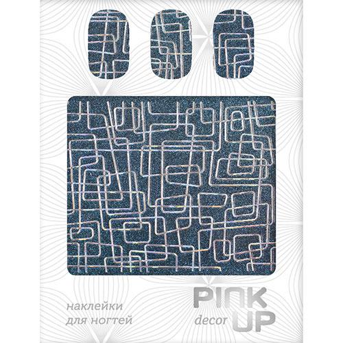 Наклейки для ногтей `PINK UP` Metallic glitter linesДизайн ногтей<br>Pink Up Nail desing – наклейки для ногтей. Твой незаменимый помощник для создания салонного дизайна ногтей в домашних условиях. Дизайн ногтей который всегда получается!<br>
