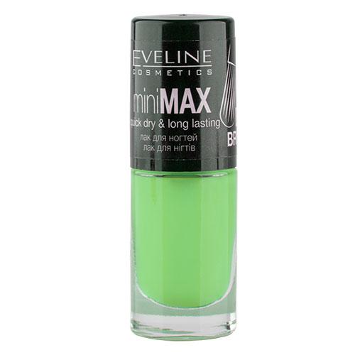Лак для ногтей `EVELINE` MINI MAX тон 102 5 млЛаки<br>Лак для ногтей Mini Max PERFECT BRUSH miniMAX quick dry &amp; long lasting<br>