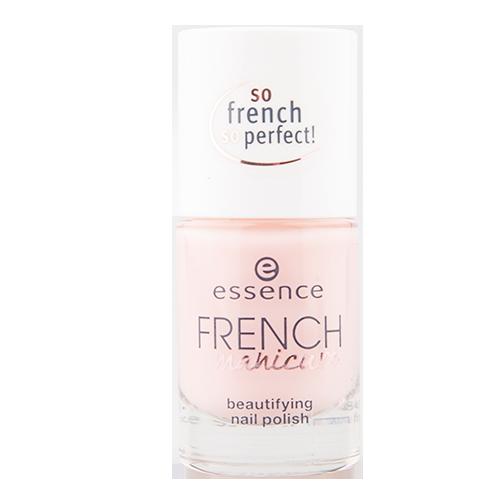 Лак для ногтей ESSENCE FRENCH MANICURE тон 01 (розовый) 8 млЛаки<br>Этот нежный лак для ногтей позволяет создать естественный и сияющий французский маникюр. Для роскошных, изнеженных ноготков.<br>