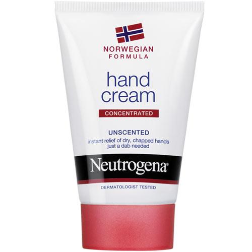 Крем для рук без запаха `NEUTROGENA` (без запаха) 50 млДля рук и ног<br>Neutrogena НОРВЕЖСКАЯ ФОРМУЛА Крем для рук без запаха. Концентрированный. Интенсивная формула с высоким содержанием глицерина мнгновенно восстанавливает и защищает даже очень сухую и потрескавшуюся кожу. Всего после 1ого применения кожа заметно мягче. Рассчитан более чем на 200 применений.<br>