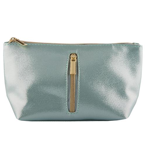 Косметичка прямоугольная с карманом LADY PINK SHINING голубаяКосметички<br>Косметичка Lady Pink - стильное и удобное решение для хранения косметики. Большой выбор косметичек разных форм и размеров, а также ярких дизайнов позволит легко выбрать ту, которая подходит именно тебе.<br>