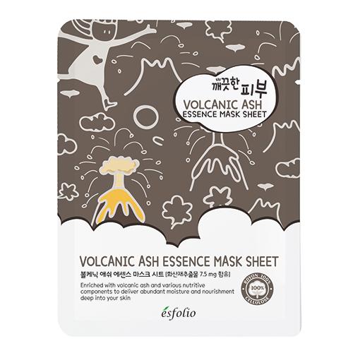 Маска для лица `ESFOLIO` Вулканический пепел 25 млМаски<br>Экстракт красного женьшеня помогает очистить кожу и сделать ее увлажненной. Витамины, содержащиеся в экстракте айвы и экстракте портулака огородного, повышают эластичность кожи и наполняет ее свежестью.<br>
