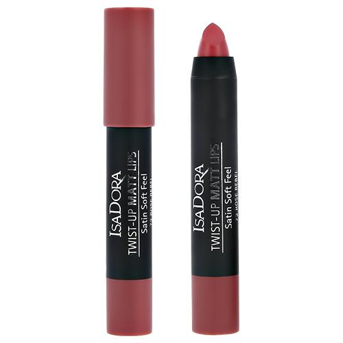 Помада-карандаш для губ ISADORA TWIST-UP MATT LIPS тон 72 матовая