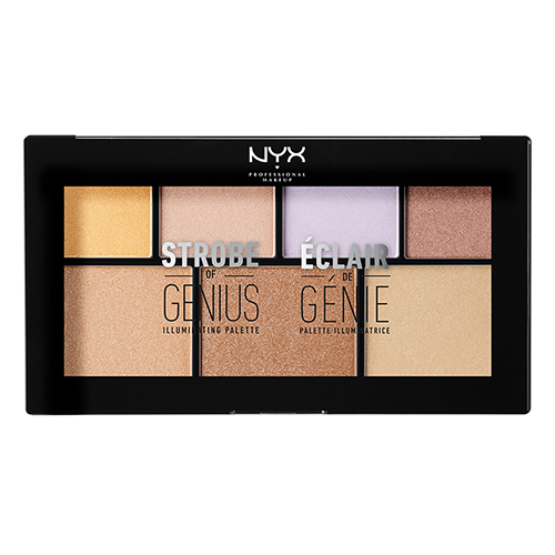 Палетка для стробинга `NYX PROFESSIONAL MAKEUP` STROBE OF GENIUS