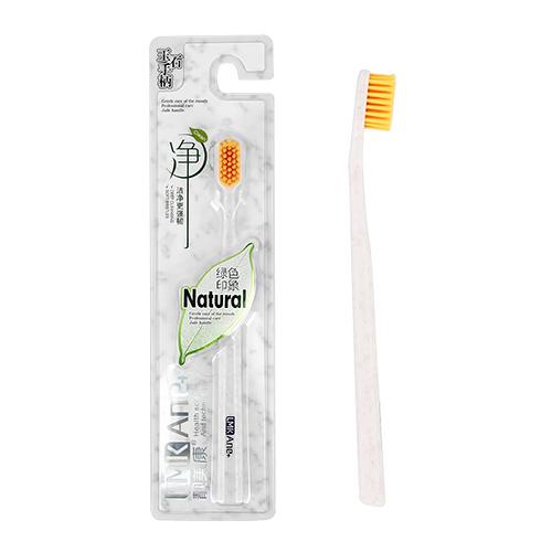 Щетка зубная LMK ANE+  NATURAL мягкая yellow