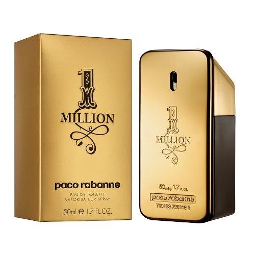 Туалетная вода `PACO RABANNE` 1 MILLION муж. 50 млМужская<br>Аромат создан для эффектного соблазнителя, играющего на показ. Название аромата пробуждает желания и фантазии любого мужчины. Его юмор и шарм позволяют ему получить все, о чем он мечтает в одно мгновение и без дополнительных усилий. Paco Rabanne о дизайне флакона и упаковки: Золото - символ силы и царственности, нечто крайне мужественное , этот гениальный дизайн напоминает прямоугольные пластины, из которых я собирал свои платья . Классификация аромата: свежий, пряный, кожаный. ВЕРХНИЕ НОТЫ: зеленая мята, красный мандарин. НОТЫ СЕРДЦА: абсолю розы, корица. НОТЫ ШЛЕЙФА: аккорд кожи (березовое масло, стиракс, пачули, кастореум), амбра. Сбалансированный, гармоничный, контрастный, многогранный!<br>