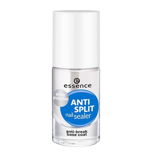 Лак для ногтей `ESSENCE` ANTI-SPLIT NAIL SEALER укрепляющийУход за ногтями<br>Хрупкие, ломкие ногти? Теперь это в прошлом! Эта быстросохнущая база помогает запечатать все расслоившиеся участки и трещины и станет отличным первым шагом для эффективной защиты склонных к ломкости ногтей. Может использоваться как самостоятельное покрытие или в качестве базы под лак.<br>