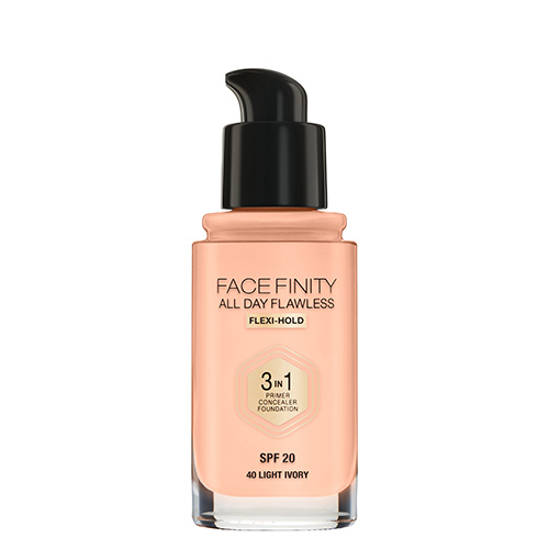 Основа тональная для лица `MAX FACTOR` FACEFINITY ALL DAY FLAWLESS 3 в 1 тон 40