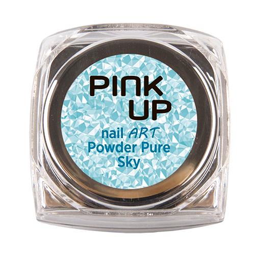 Втирка для ногтей `PINK UP` NAIL ART тон 15 Pure Sky 3 грДизайн ногтей<br>Зеркальная втирка для ногтей Pink UP, 3гр Предназначена для втирание в верзнее покрытие без липкого слоя поверх лака, гель-лака или геля.<br>