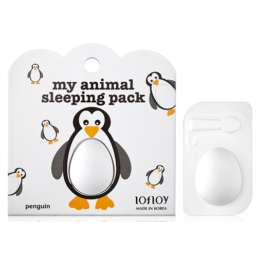 Купить Ночная маска для лица LOFLOY Пингвин 2х4 гр, РЕСПУБЛИКА КОРЕЯ/ REPUBLIC OF KOREA