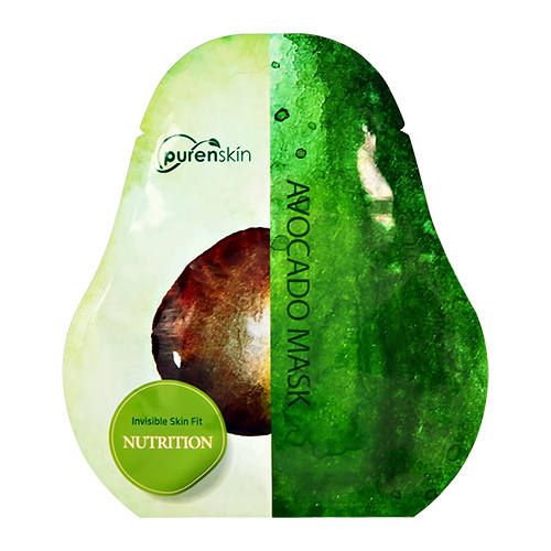Купить Маска для лица PURENSKIN c экстрактом авокадо питательная 23 г, РЕСПУБЛИКА КОРЕЯ/ REPUBLIC OF KOREA