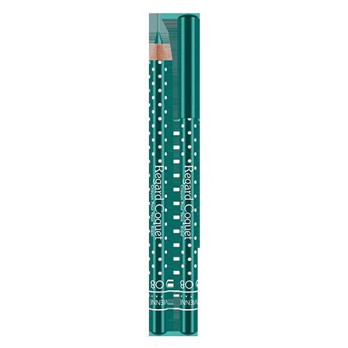 Карандаш-каял для глаз VIVIENNE SABO REGARD COQUET тон 08Карандаши<br>Карандаши-каялы Regard Coquet из коллекции могут служить прекрасным дополнением макияжу коллекции, а так же выступить соло. Великолепная бархатная текстура карандаша позволяет создать идеальную линию, как по ресничному контуру, так и по внутреннему краю века. Корпус карандаша одет в классический принт Vivienne Sabo - милый кокетливый горошек, что добавляет коллекции лёгкости и элегантности. Карнаубский и Канделильский воски - обеспечивает пластичность текстуры, легкость скольжения, придает пластичность и стойкость текстуре. Состав содержит активные антиоксиданыт - витамины А и Е<br>