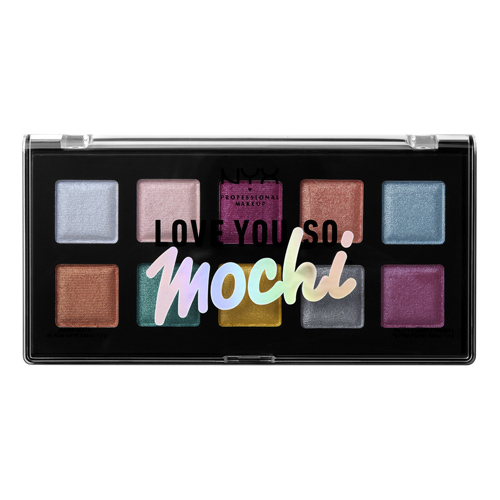 Палетка теней для век `NYX PROFESSIONAL MAKEUP` LOVE YOU SO MOCHI тон electric pastels