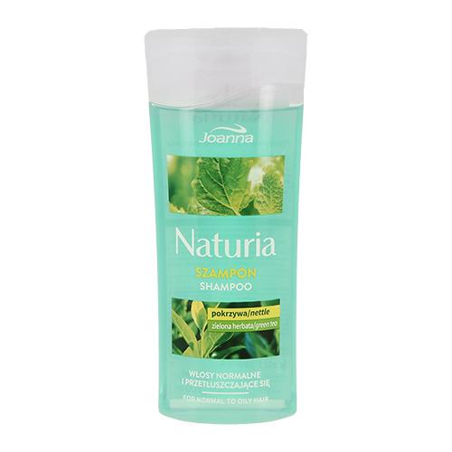 Шампунь для волос JOANNA NATURIA Крапива и зеленый чай для нормальных и жирных волос 100 мл фото
