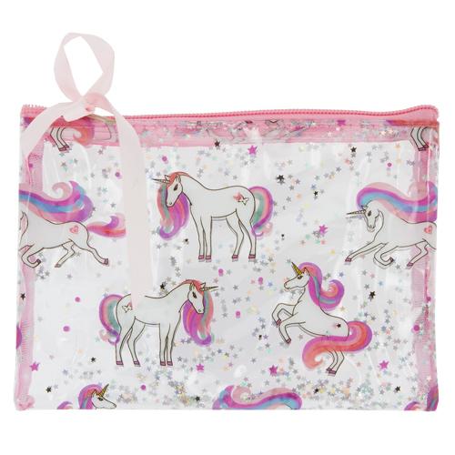 Косметичка `MISS PINKY` UNICORN розоваяКосметички<br>Очаровательная косметичка MISS PINKY привлечет внимание вашей малышки. В ней, подражая взрослым, девочка сможет хранить необходимые ей мелочи.<br>