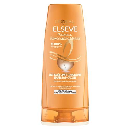 Бальзам для волос LOREAL ELSEVE РОСКОШЬ КОКОСОВОГО МАСЛА для нормальных и склонных к сухости волос 400 мл