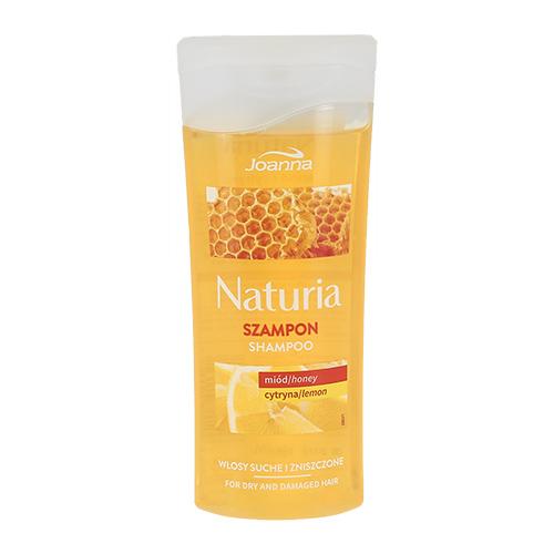 Шампунь для волос JOANNA NATURIA Мед и лимон для сухих и поврежденных волос 100 мл фото