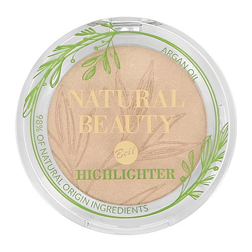 Хайлайтер BELL NATURAL BEAUTY NATURAL BEAUTY HIGHLIGHTER тон pure light для лица и тела 98% натуральных ингредиентов