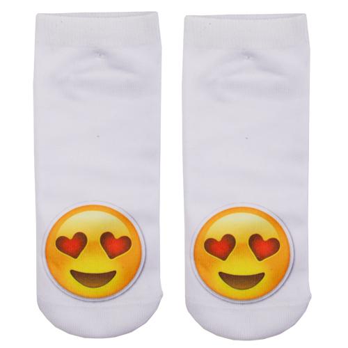 Носки женские `SOCKS` Little emoji In love р-р единыйГольфы и носки<br>Носки женские Little Emoji In love р-р единый<br>